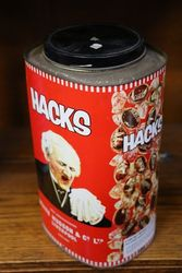 Vintage Hacks Toffee Tin