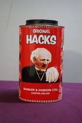 Vintage Original Hacks Toffee Pictorial Tin