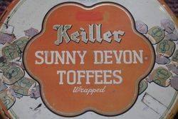 Vintage Keiller Sunny Devon Toffee Tin