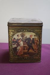 Antique Vintage Pictorial Toffee Tin