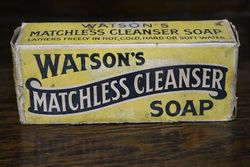 Vintage Watson's Matchless Cleanser Soap