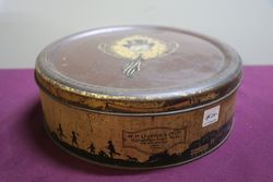 WM Livens & Co Newcastle College Boy Toffee Tin